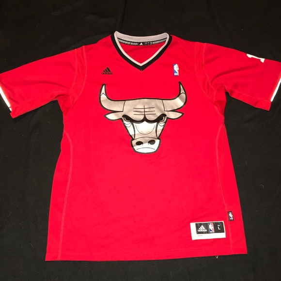 Chicago Bulls Christmas Jersey.Chicago Bulls Older Christmas Jersey